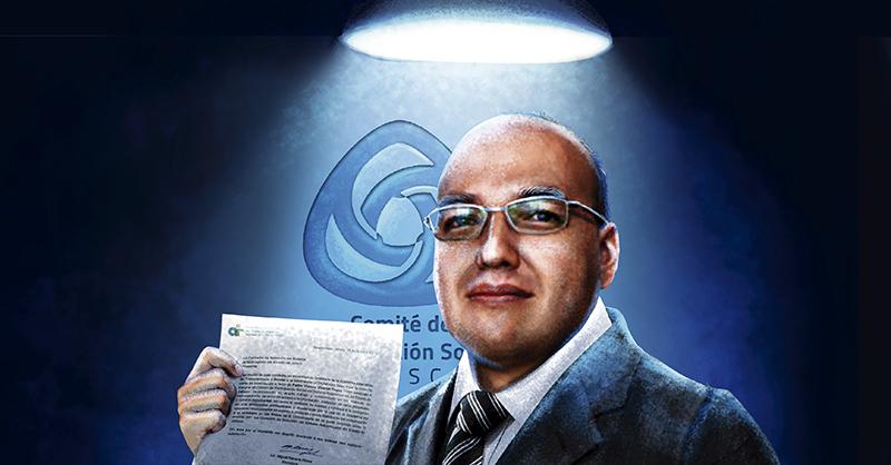El nuevo integrante del Comité de Participación Social (CPS) del Sistema Estatal Anticorrupción de Jalisco, Pedro Vicente Viveros Reyes