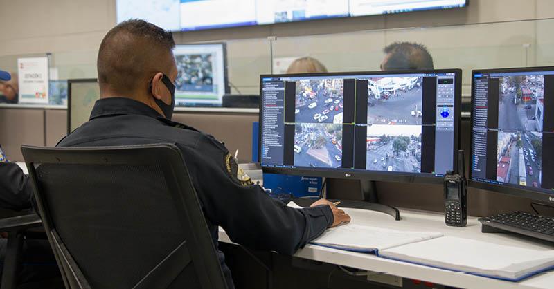 Azcapotzalco invirtió aproximadamente 40 millones de pesos en 2019 y 2020 en sistemas tecnológicos de seguridad