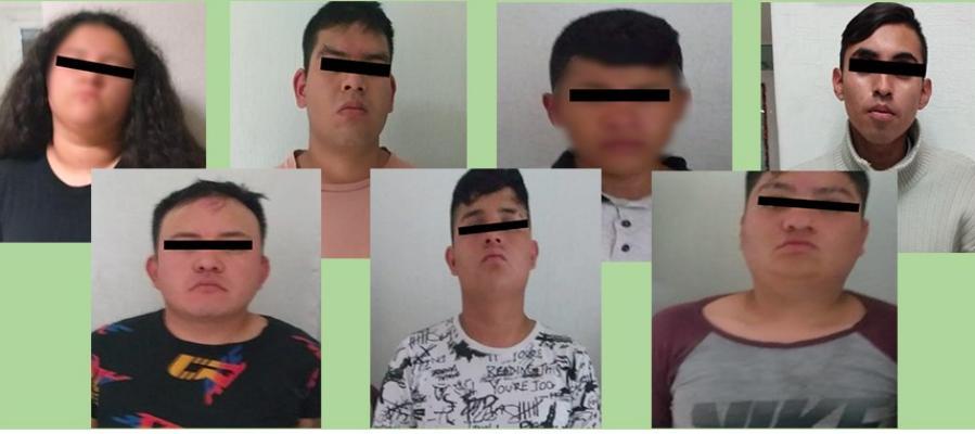 """Ladrones querían darse su """"Buen Fin"""" en tienda departamental de Chimalhuacán"""