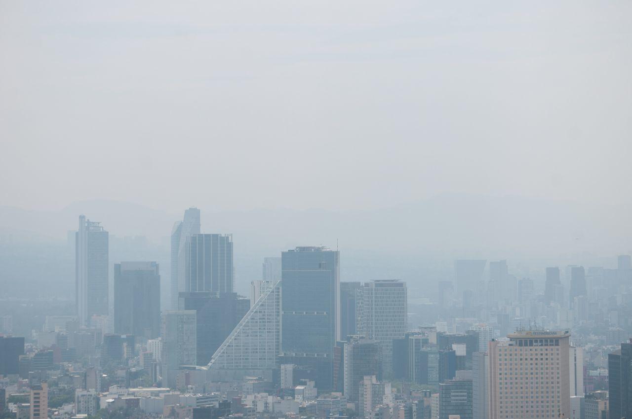 Estos autos no podrán circular el jueves por concentración de ozono en la ZMVM