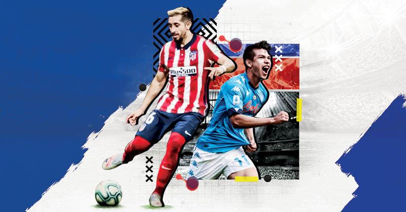 Héctor Herrera e Hirving Lozano son piezas importantes para la Selección Mexicana