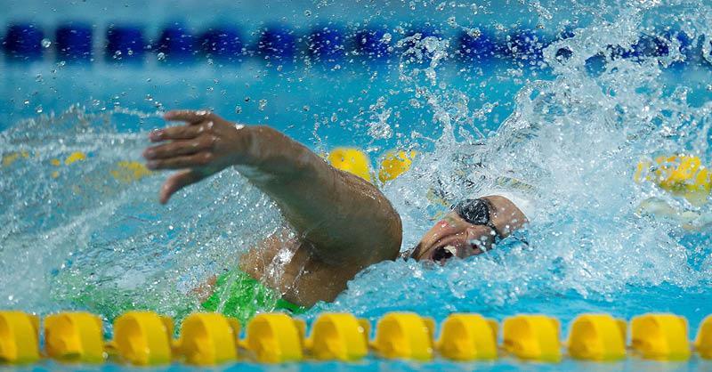 La nadadora guanajuatense Liliana Ibáñez se recuperó de una operación de rodilla
