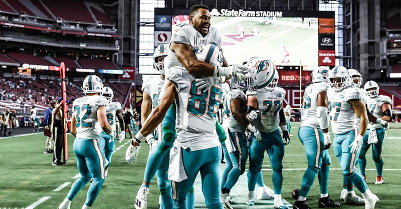 Miami Dolphins ¿Dónde y cuándo ver el juego?
