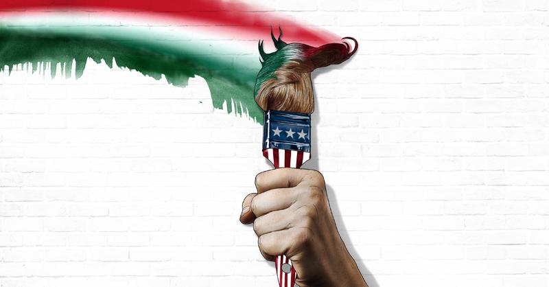 Artistas mexicanos como Rubén Rosas han protestado mediante la intervención de muros contra el discurso discriminatorio de Donald Trump