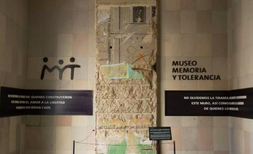 ¿Cómo llegó a México una parte del Muro de Berlín?