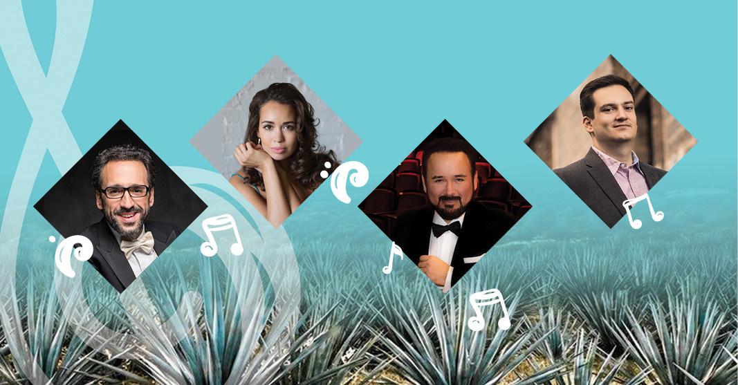 La Ópera Studio Beckmann lanzará, durante el Tequila Cultural Festival, Olympus