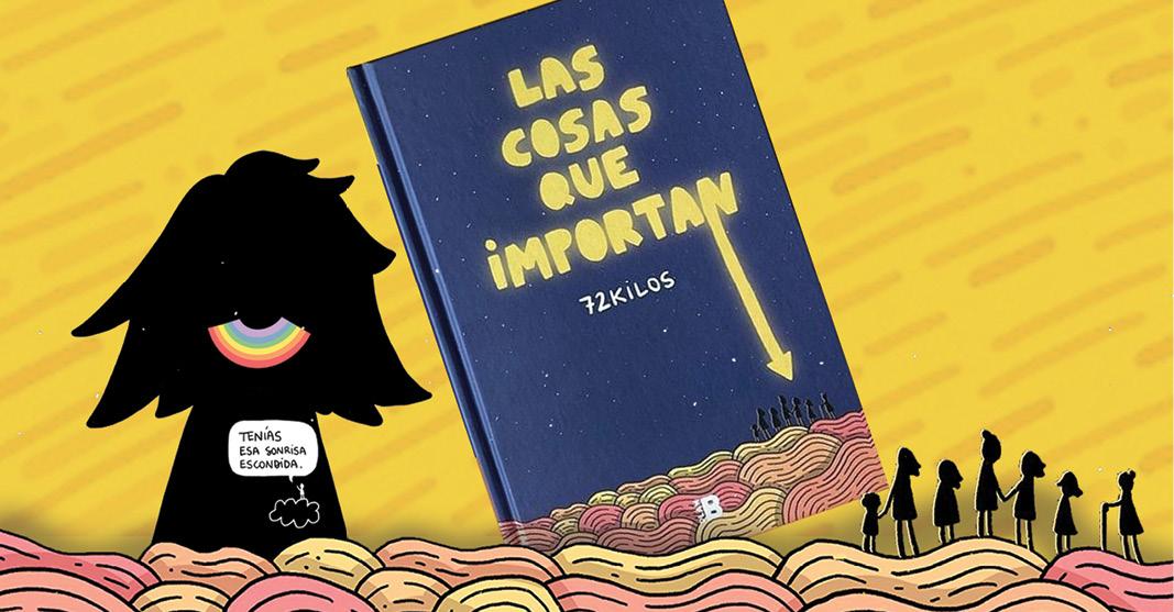 el ilustrador español Oscar Alonso creó su tercer libro Las cosas que importan