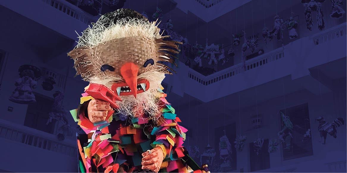 """El Museo de Arte Popular (MAP) organiza por decimocuarta ocasión el """"Concurso Exposición de Piñatas Mexicanas"""""""