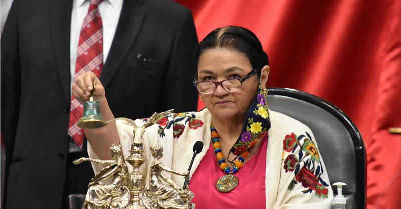 Dulce María Sauri Riancho, hizo un llamado a las diputadas de todos los partidos a evitar que los programas a favor de las mujeres se vean afectados