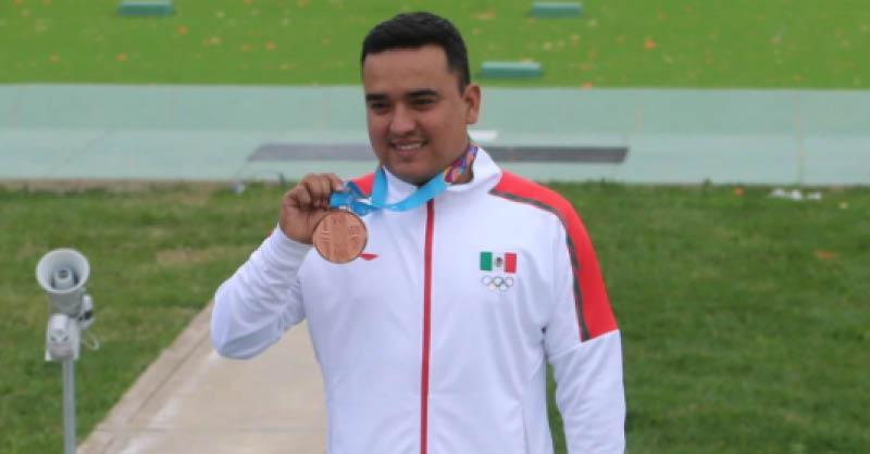 El tirador mexicano José Luis Sánchez se encamina con rumbo a los Juegos Olímpicos de Tokio
