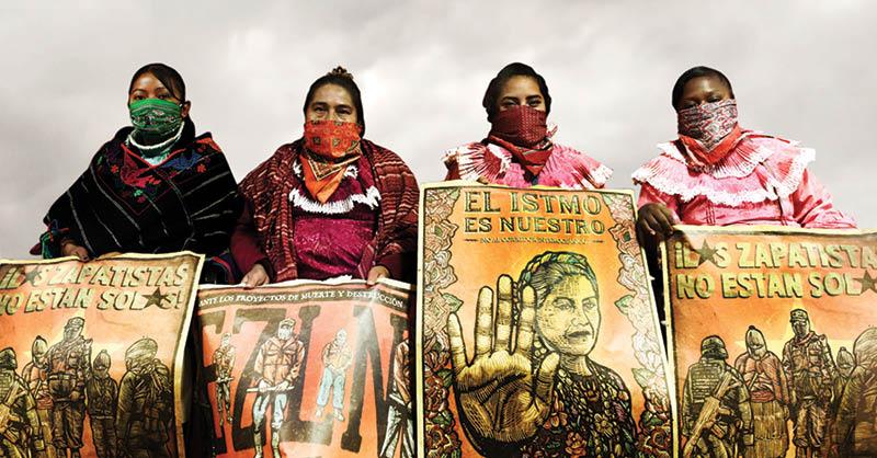 Integrantes de la comunidad otomí tomaron el Instituto Nacional de los Pueblos Indígenas (INPI)