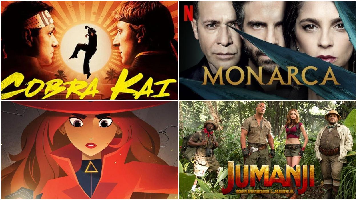 Netflix enero estrenos