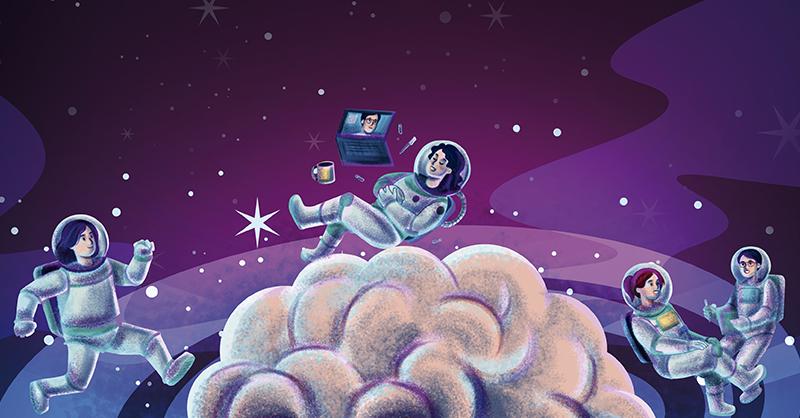 La plataforma Astronauta emocional ofrece ayuda psicológica de manera presencial o digital