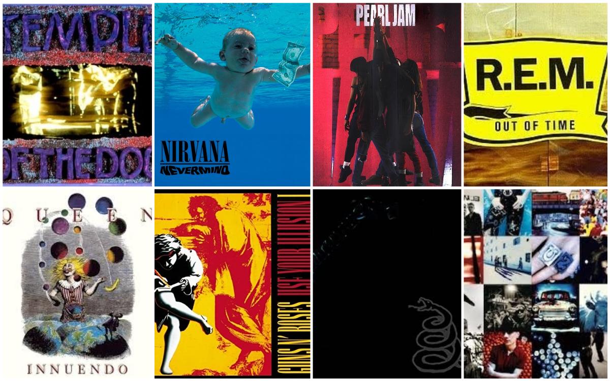 Estos son los 20 discos de rock y metal que cumplen 30 años de vida en 2021