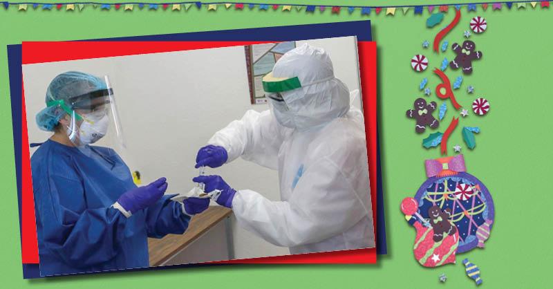 La doctora Eli Barroeta ha estado durante los meses más álgidos de la pandemia en la primera línea de defensa