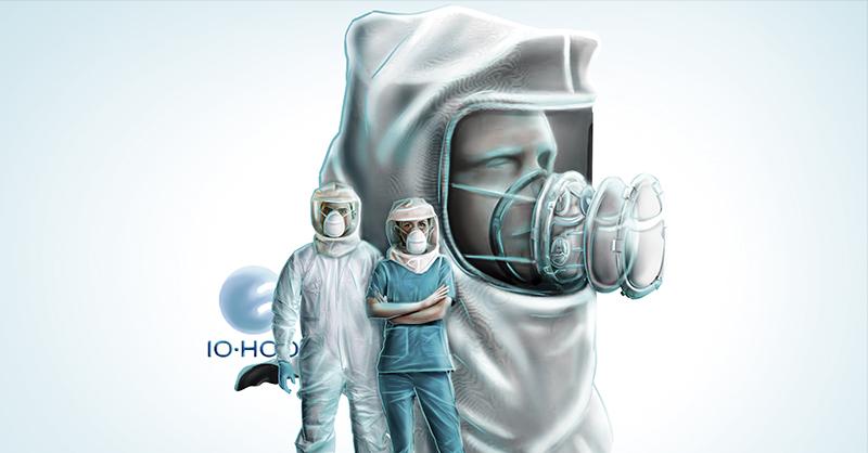 La escafandra IO-HOOD, respaldada por un equipo de médicos y científicos conformado por la Sectei
