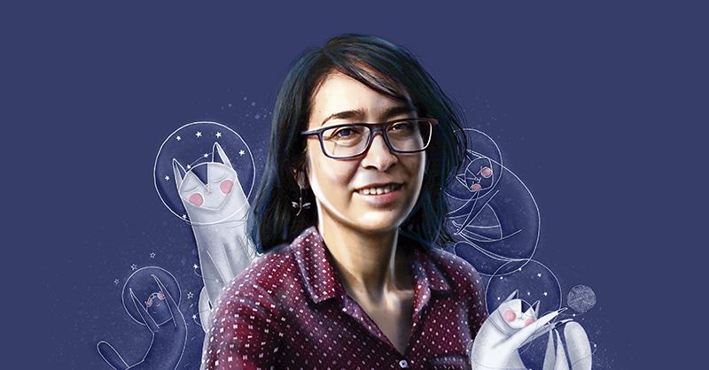 La escritora Evelyn Moreno ganó el Premio Hispanoamericano de Poesía para Niños 2020
