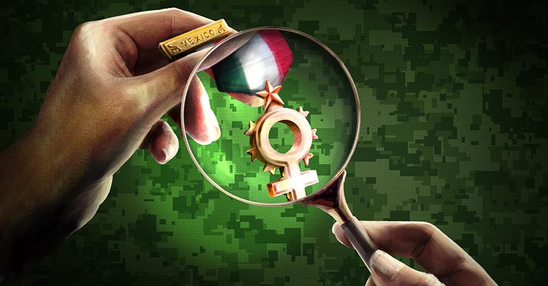 Para preparar a las fuerzas armadas con perspectiva de género y en derechos humanos