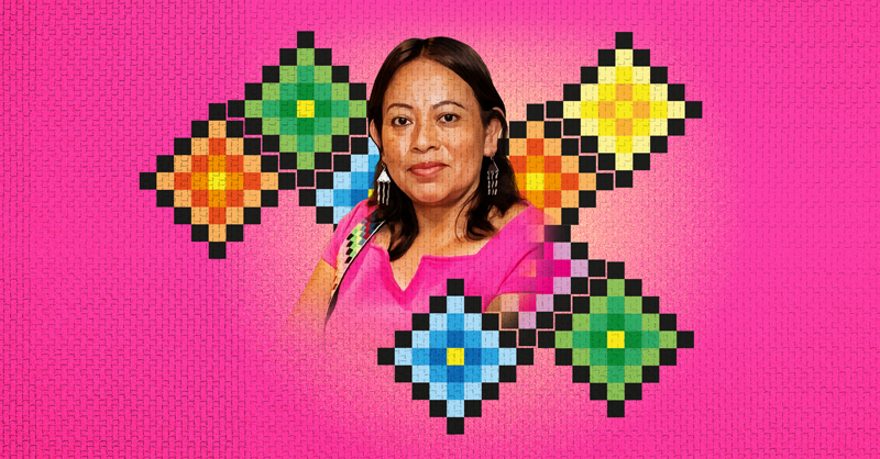 Juana Peñate, una mujer poeta que, con sus escritos, habla de sus raíces y su comunidad