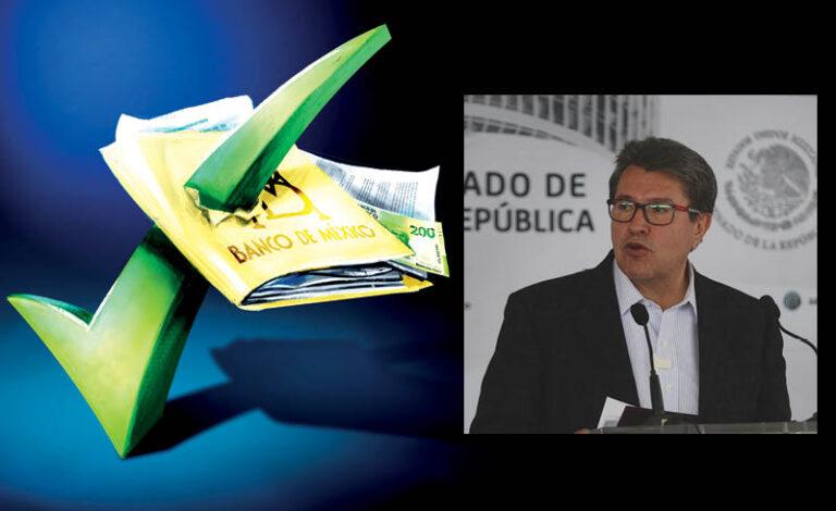 En el Senado de la República no se aceptan presiones de ningún tipo y mucho menos injerencias, enfatizó el senador Ricardo Monreal