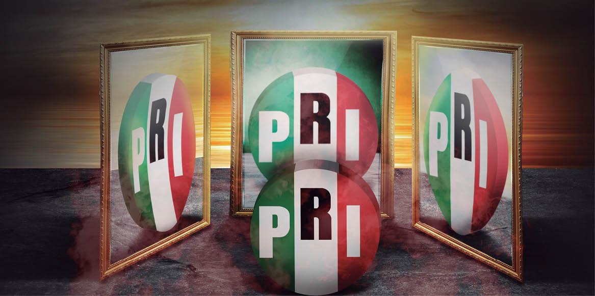 Diferentes estructuras del PRI buscan el gobierno