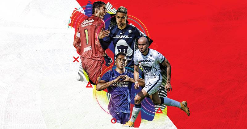 Pumas y Cruz Azul protagonizan juegos de alto poder