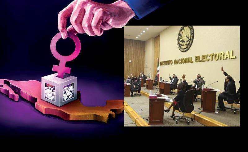 Se debe ratificar el acuerdo del INE para garantizar la paridad en las gubernaturas