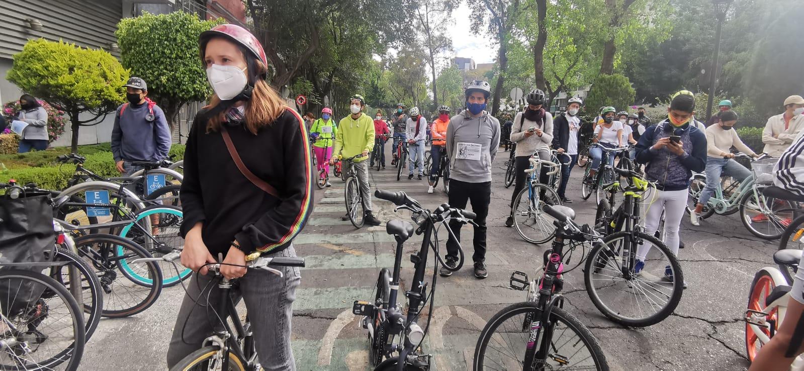 Ciclistas rodada