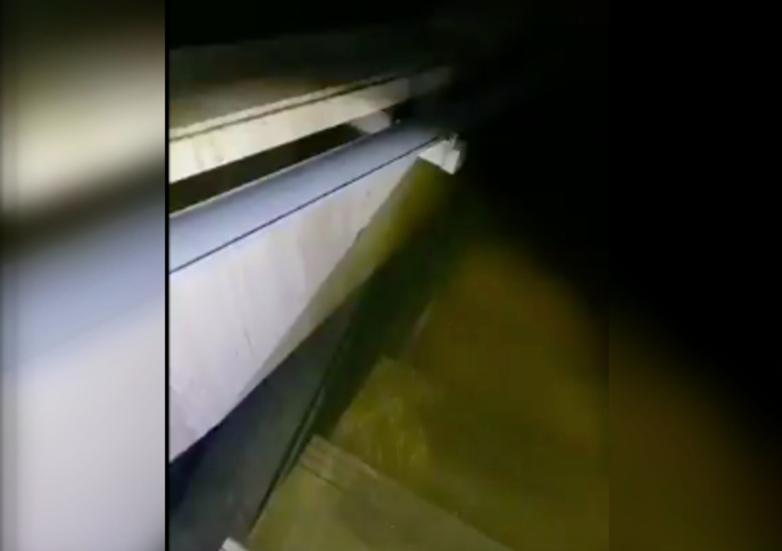 Metro inundación