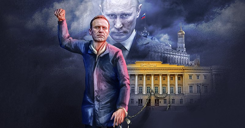 Alexei Navalny, uno de los oponentes más populares en contra del presidente Vladimir Putin