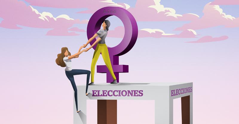 Con la plataforma Aúna, decenas de mexicanas demuestran que ellas son mayoría para contender por cargos públicos en las próximas elecciones
