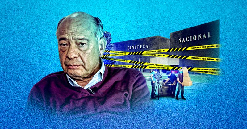 La Cineteca Nacional permanecerá cerrada al público hasta que el semáforo epidemiológico lo permita