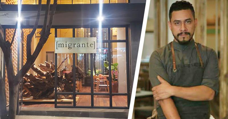 A través de la iniciativa De corazón, va de Migrante a Migrante, el restaurante del chef Fernando Martínez