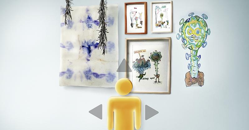 La galería Galileo 92 sigue presentando a artistas independientes de manera virtual