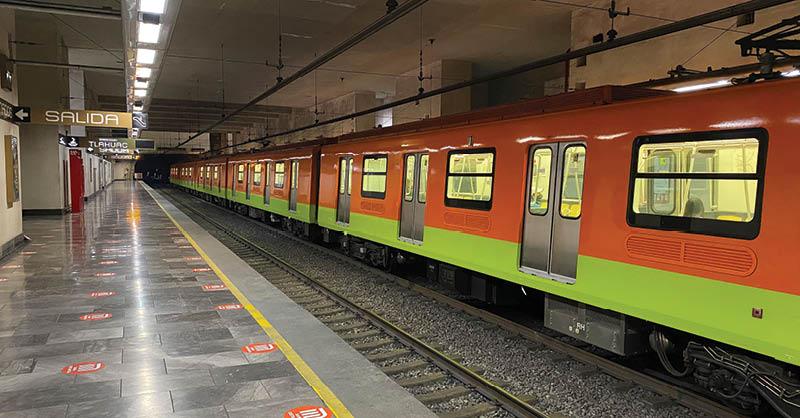 Los recursos del Metro para mantenimiento han aumentado hasta 58 por ciento