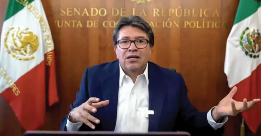 Ricardo Monreal dijo que pese a la pandemia de COVID-19 el Senado de la República continuará trabajando remotamente para mitigar los efectos de la misma