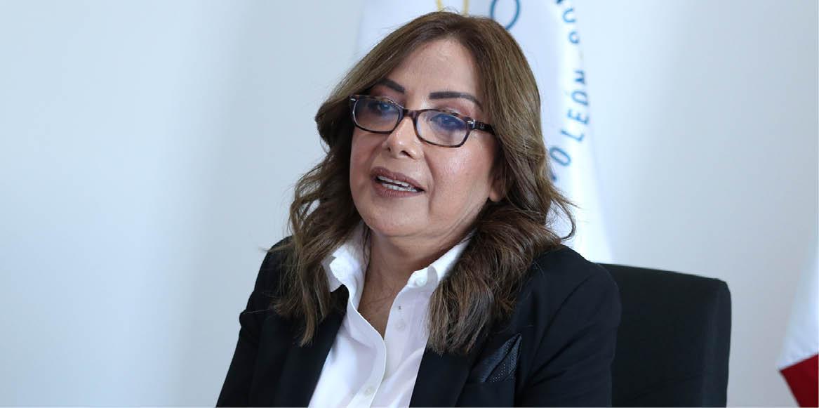 Olga Susana Méndez, de la CEDHNL, fue cuestionada sobre su postura hacia la diversidad sexual.