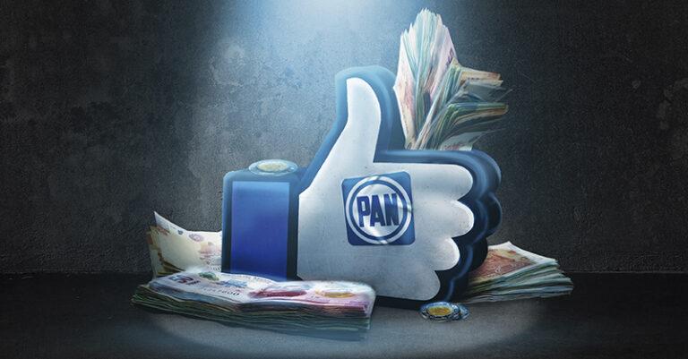 Cinco diputados locales del PAN gastaron casi medio millón de pesos en Redes sociales