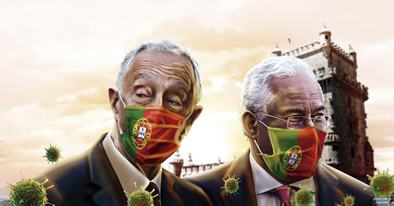 El político conservador Marcelo Rebelo de Sousa deberá enfrentar la pandemia en Portugal