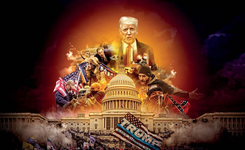 Donald Trump demostró que está dispuesto a todo para retener la Presidencia de Estados Unidos