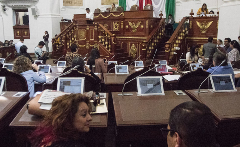 El seguro de vida contratado por el Congreso de la Ciudad de México no pudo ser cancelado