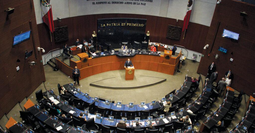 En el Senado de la República los legisladores analizan modificar las prerrogativas para partidos políticos