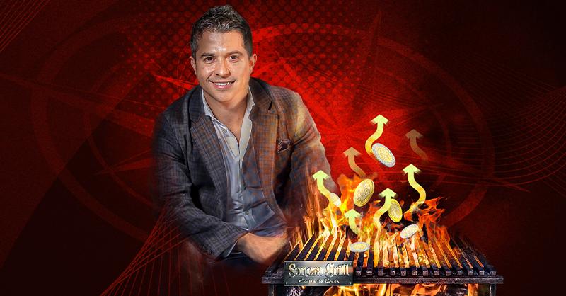 Ricardo Añorve, fundador del grupo Sonora Grill