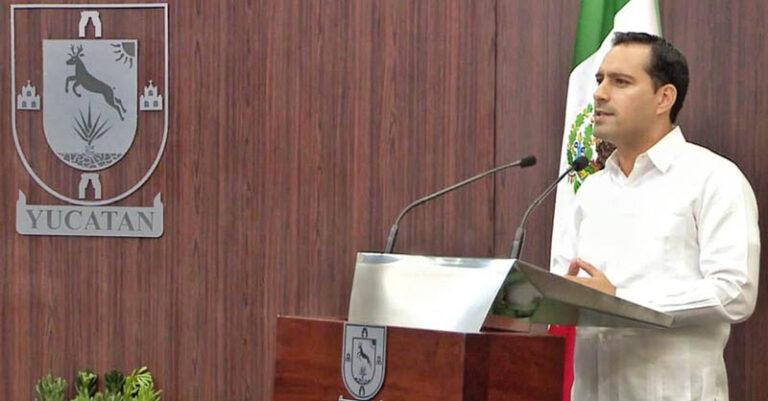 Con motivo de su Segundo Informe de Resultados, Vila Dosal dirigió un mensaje
