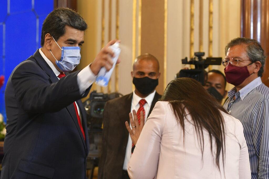 """Maduro exige a EE.UU. donación de vacunas: """"Desprecian a Venezuela porque somos rebeldes"""""""