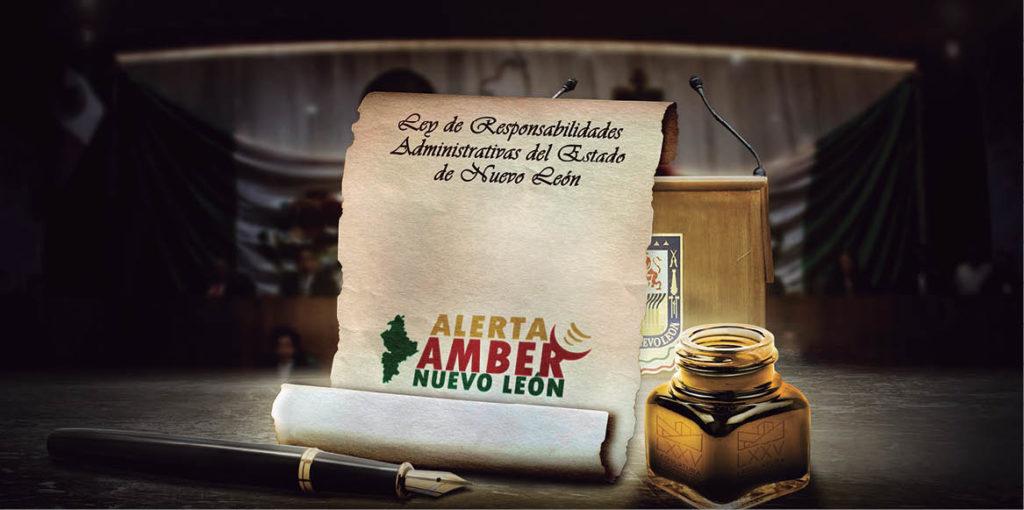Los servidores públicos que retrasen la activación de la Alerta Amber de Nuevo León podrían ser sancionados