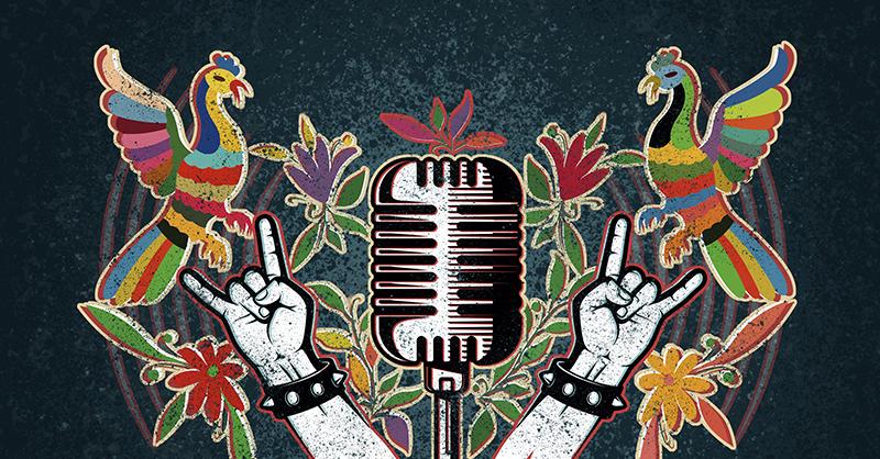 Bats'i' es una serie de cápsulas radiofónicas realizadas en maya sobre el rock chiapaneco