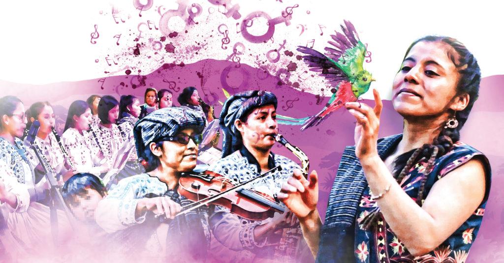 La Banda Filarmónica Femenil Ka'Ux presenta un repertorio en el que destacan composiciones propias