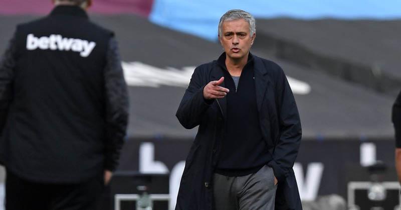 José Mourinho, director técnico del Tottenham