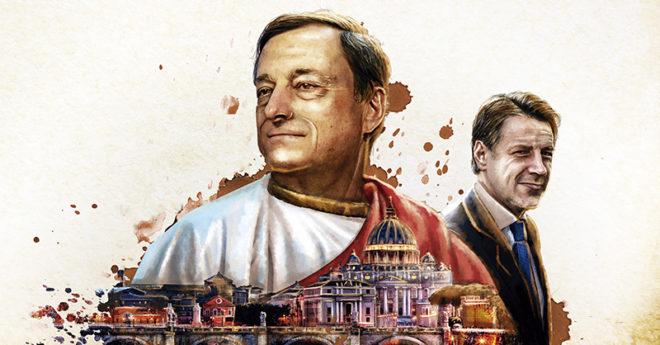 Mario Draghi está a la espera de la aprobación de las Cámaras parlamentarias para comenzar su administración como primer ministro